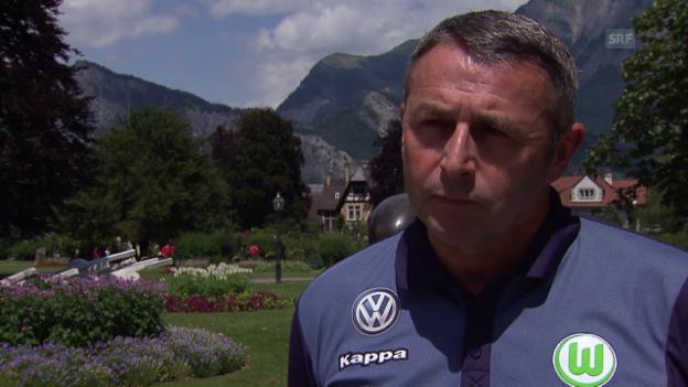 Video «Fussball: Interview mit Klaus Allofs» abspielen