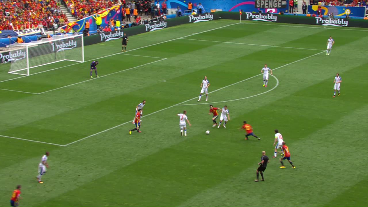 Spanien siegt dank Piqué