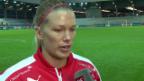 Video «Dickenmann: «Nächstes Mal machen wir ein paar Tore mehr»» abspielen