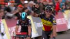 Video «Gold Race: Gilbert siegt, Albasini starker Dritter» abspielen