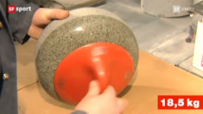 Video ««Tscheggsch de Pögg»: Wie entsteht ein Curlingstein? » abspielen