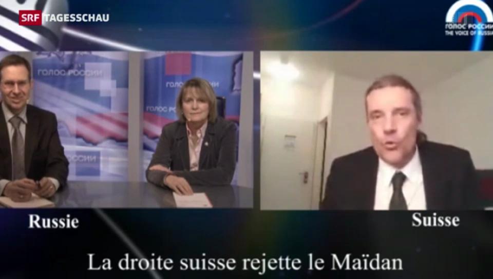 SVP-Nationalrat Freysinger wettert im russischen TV