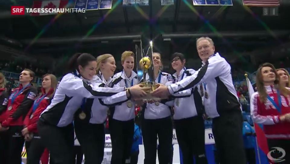 WM-Gold für Schweizer Curlerinnen