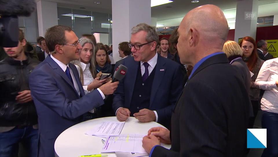 Daniel Jositsch und Ruedi Noser im Interview