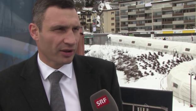 Video «Vitali Klitschko am WEF 2015» abspielen