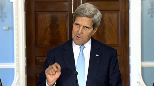 Video «US-Aussenminister Kerry nennt Beweise» abspielen
