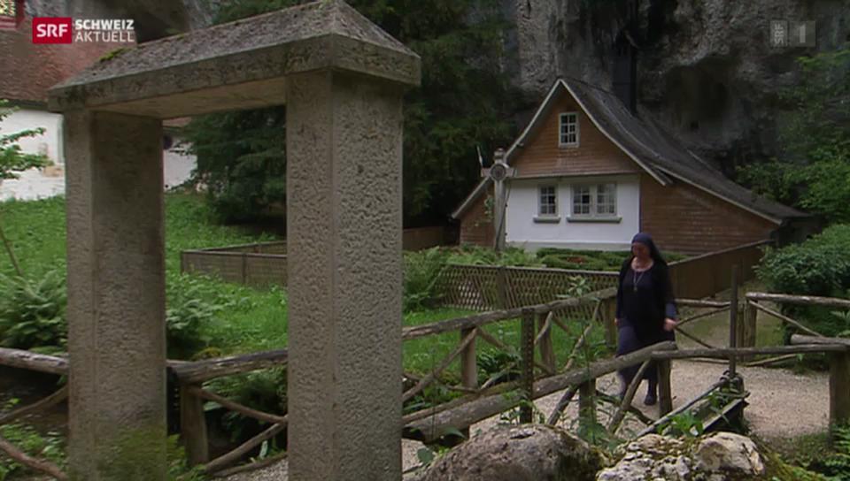 Schwester Benedikta zieht in die Verenaschlucht