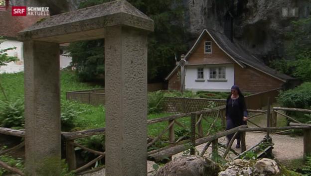 Video «Schwester Benedikta zieht in die Verenaschlucht» abspielen