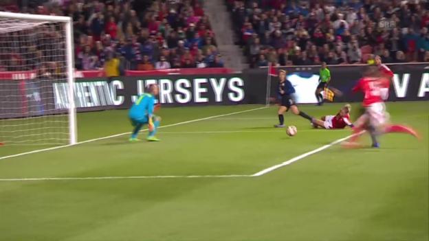 Video «Schweizerinnen verlieren Test gegen die USA» abspielen