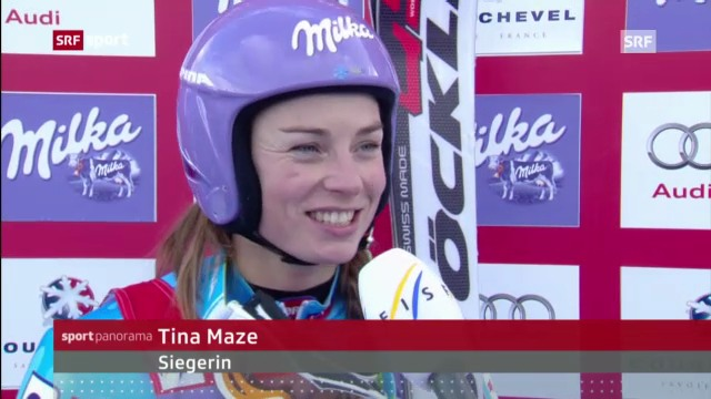Ski: Riesenslalom Frauen in Courchevel