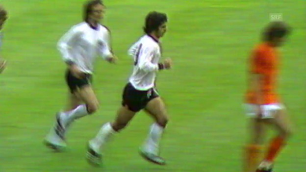 Video «Fussball: WM 1974, Final GER-NED» abspielen