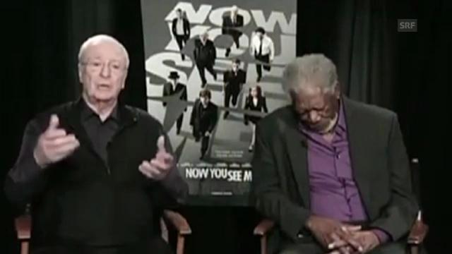 Morgan Freeman döst live im US-Fernsehen