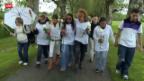 Video «Marche Blanche für getötete Marie» abspielen