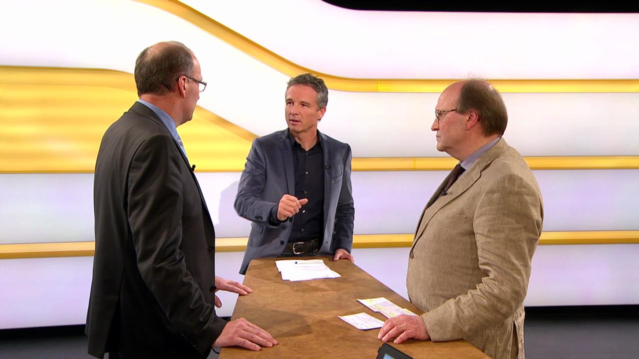 Studiogespräch mit Markus Ritter und Reinhard Zbinden