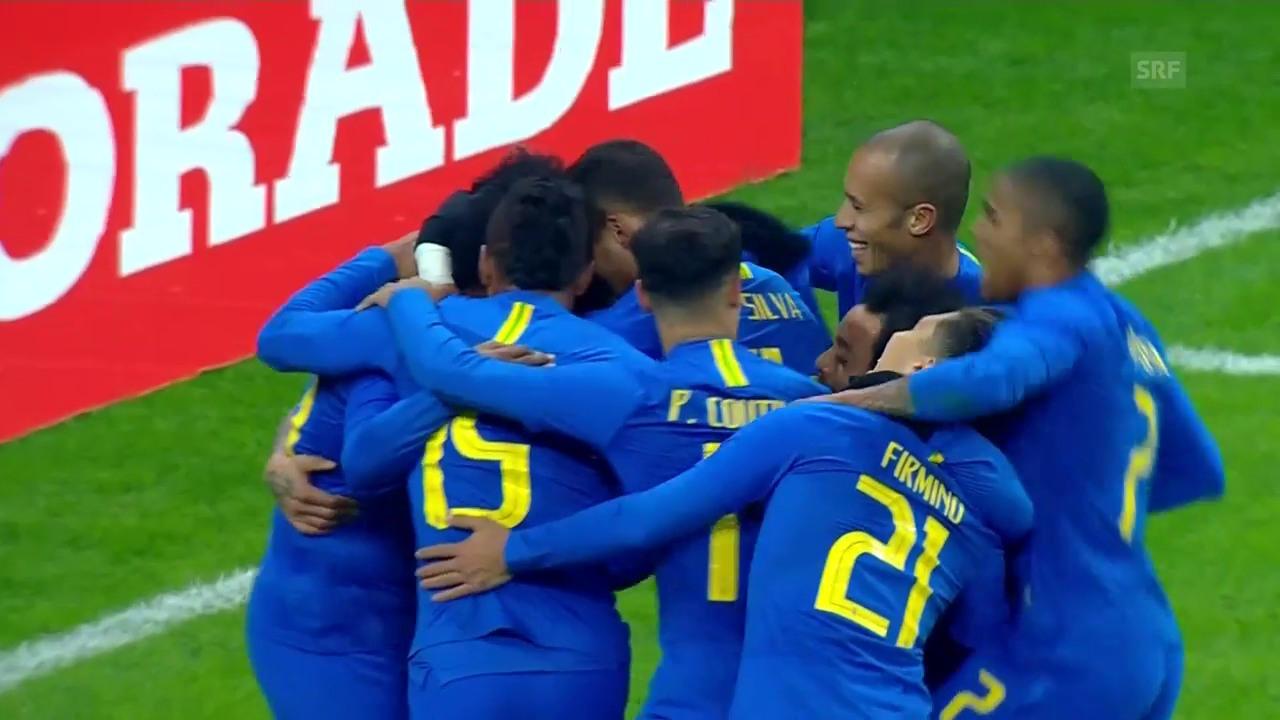 Brasilien gibt sich gegen Russland keine Blösse