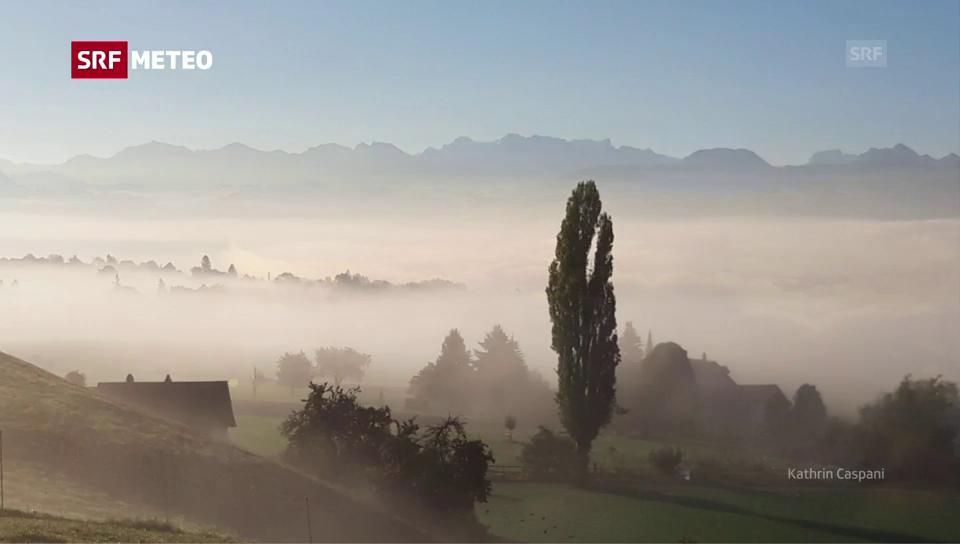 Wie entsteht Nebel oder Hochnebel?