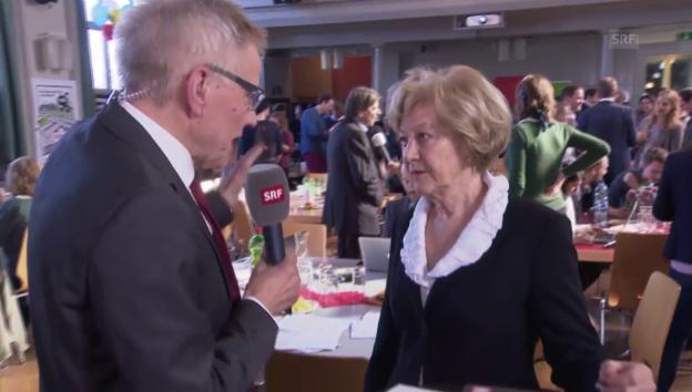 Video «Leutenegger-Oberholzer: «Von der Deutlichkeit überrascht»» abspielen