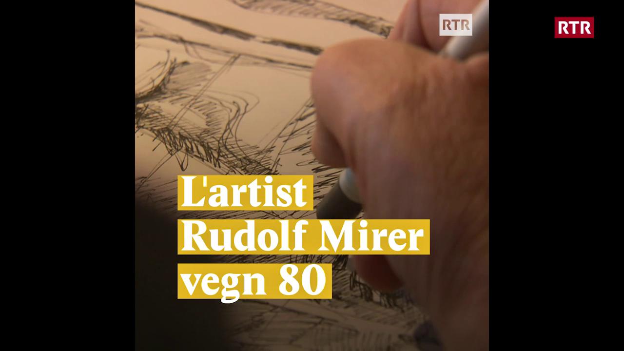 Rudolf Mirer vegn 80