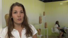 Video «Claudia Comte gewinnt Swiss Art Award» abspielen