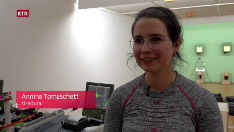 Annina Tomaschett a la recruta da sport