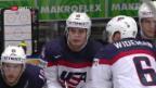 Video «Auston Matthews schiesst die USA zum Sieg über Tschechien» abspielen