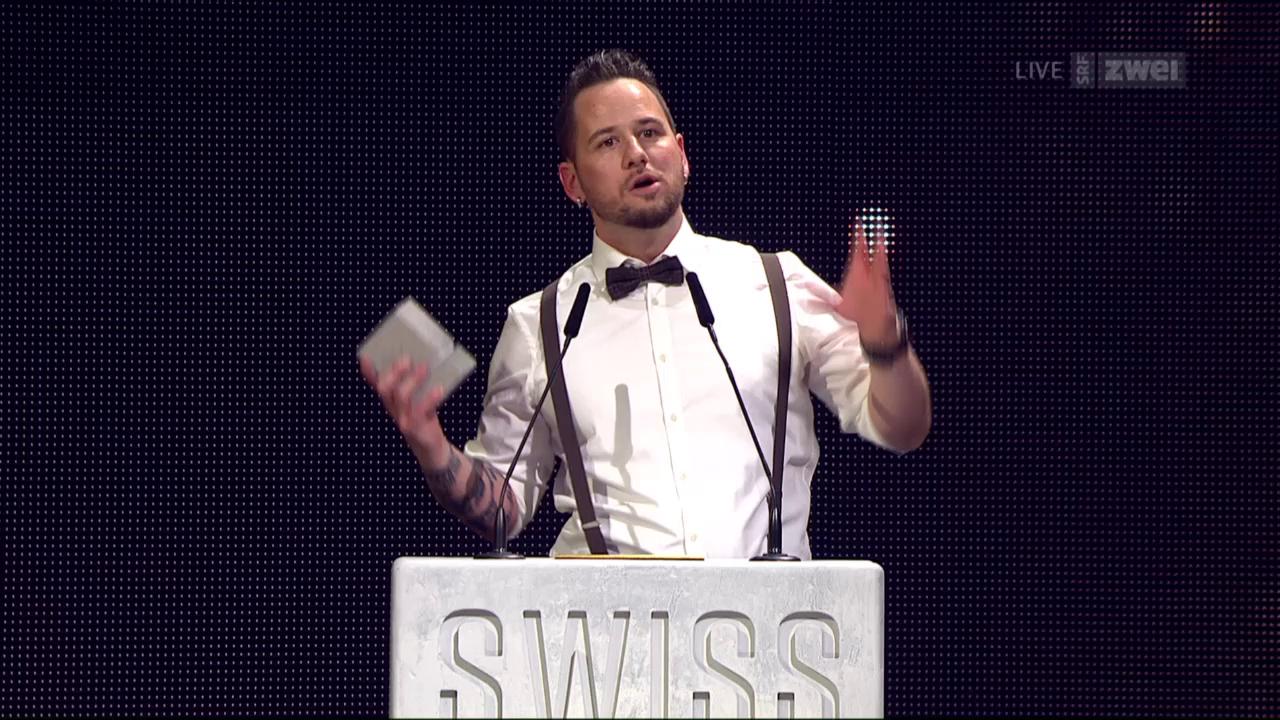 Marc Trauffer als bester Solokünstler ausgezeichnet (10.2.2017)