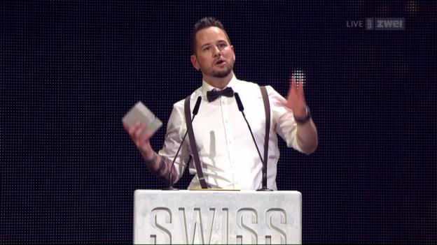 Video «Marc Trauffer als bester Solokünstler ausgezeichnet (10.2.2017)» abspielen