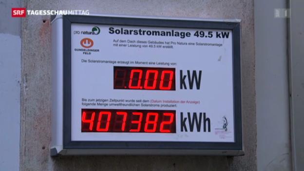 Video «Basel probt die 2000-Watt-Gesellschaft» abspielen