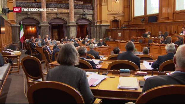 Video «MEI-Umsetzung: Nach der Debatte ist vor der Debatte» abspielen