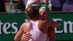 Video «Ostapenko gelingt in Roland Garros die ganz grosse Sensation» abspielen