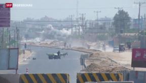 Video «Waffenstillstand bereits gebrochen» abspielen