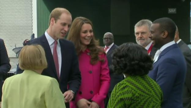Video «Kate verabschiedet sich in den Mutterschaftsurlaub (unkom.)» abspielen