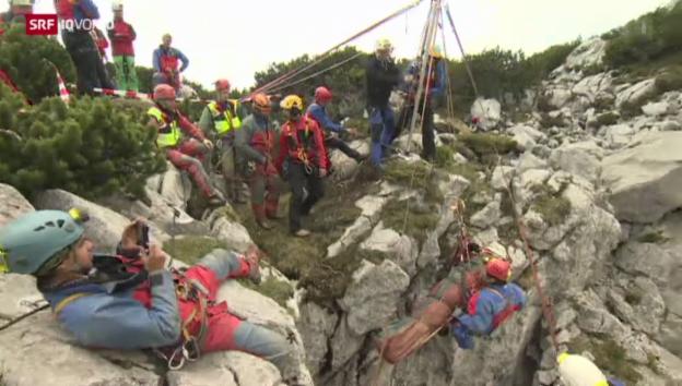 Video «Höhlenforscher gerettet – wer zahlt?» abspielen