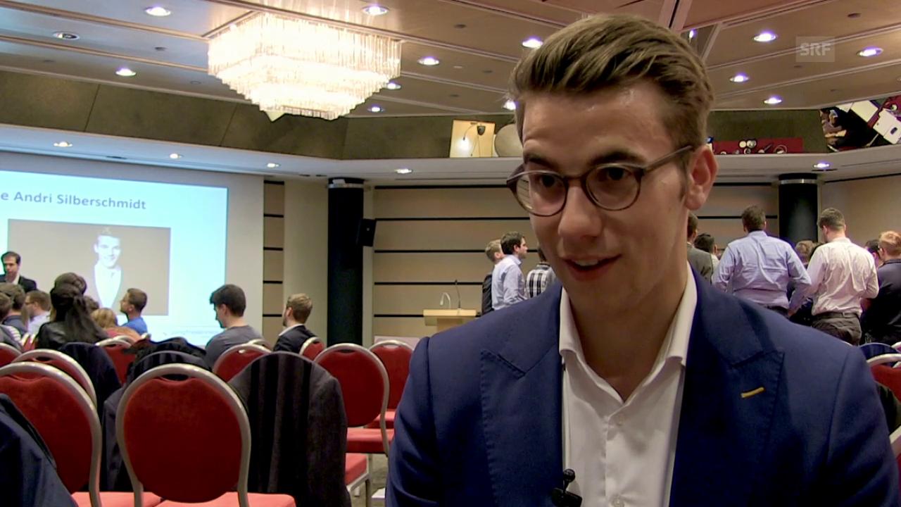 Andri Silberschmidt, Präsident der Jungfreisinnigen