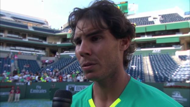 Video «Tennis: Interview mit Rafael Nadal (englisch)» abspielen