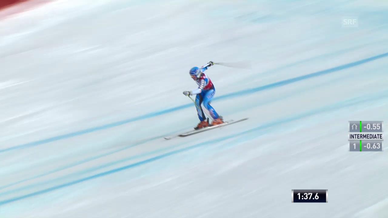 Ski Alpin: Riesenslalom auf der Lenzerheide, Der 2. Lauf von Jessica Lindell-Vikarby («sportlive», 16.03.2014)