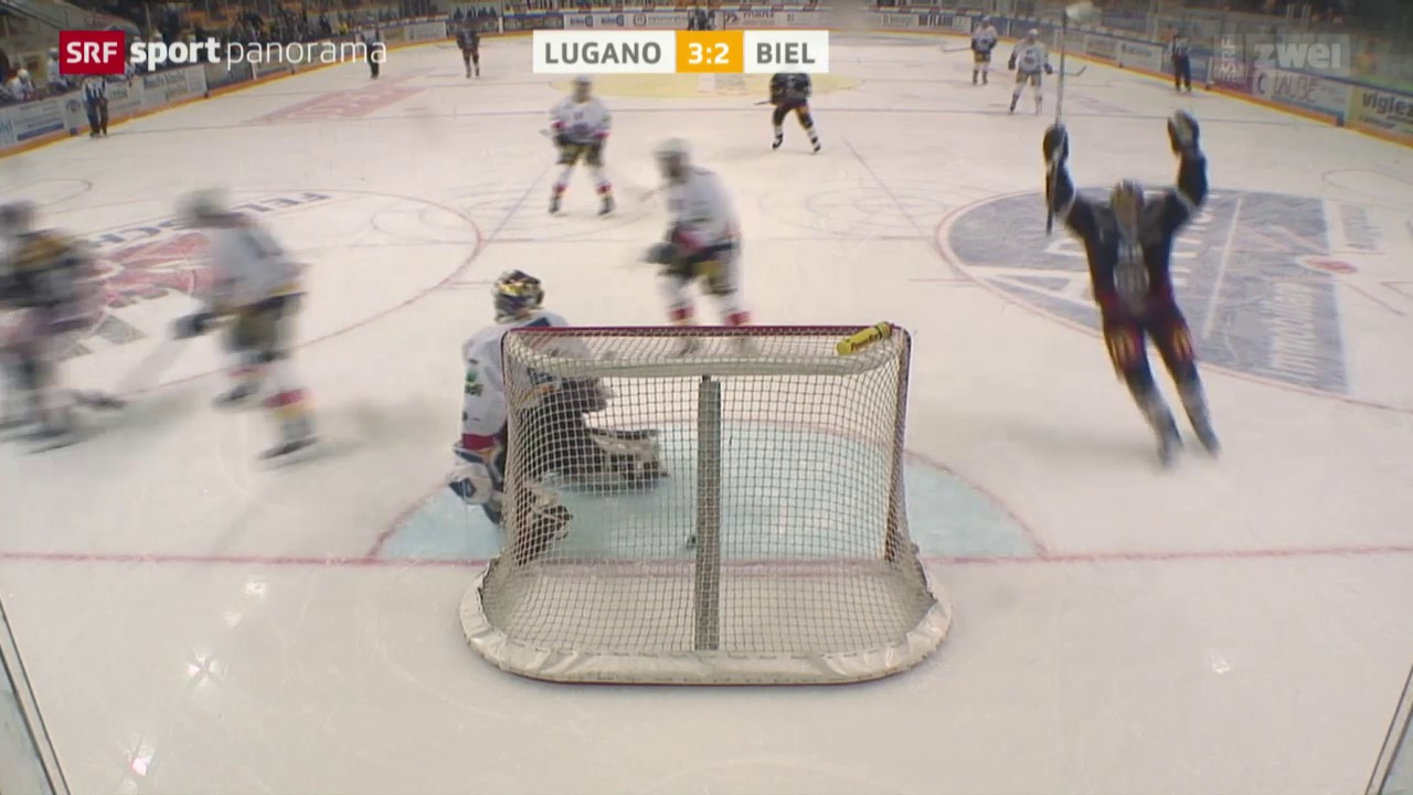 Lugano mit zweitem Sieg gegen Biel innert 24 Stunden