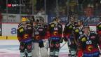 Video «Bern gewinnt das Derby gegen die Tigers» abspielen