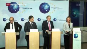 Video «EU berät über Atomabkommen mit dem Iran» abspielen