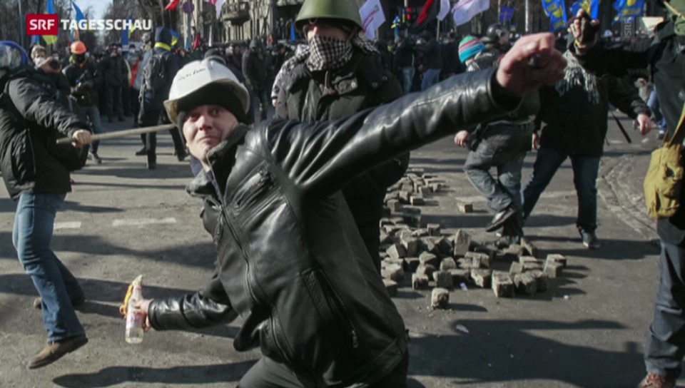 Unterschiedliche Ansichten in der Ukraine