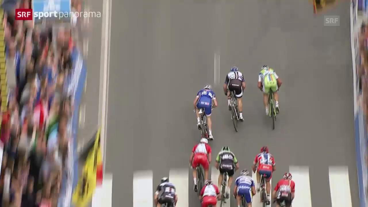 Rad: Zusammenfassung Gent-Wevelgem («sportpanorama»)