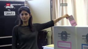 Video «Umbruchstimmung bei Italiens Kommunalwahlen» abspielen