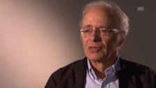 Video «Peter Singer erklärt sein Gedankenexperiment «Kind im Teich»» abspielen