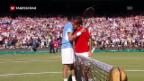 Video «Olympia 2012: Federers Kraftakt gegen De Potro um den Finaleinzug» abspielen