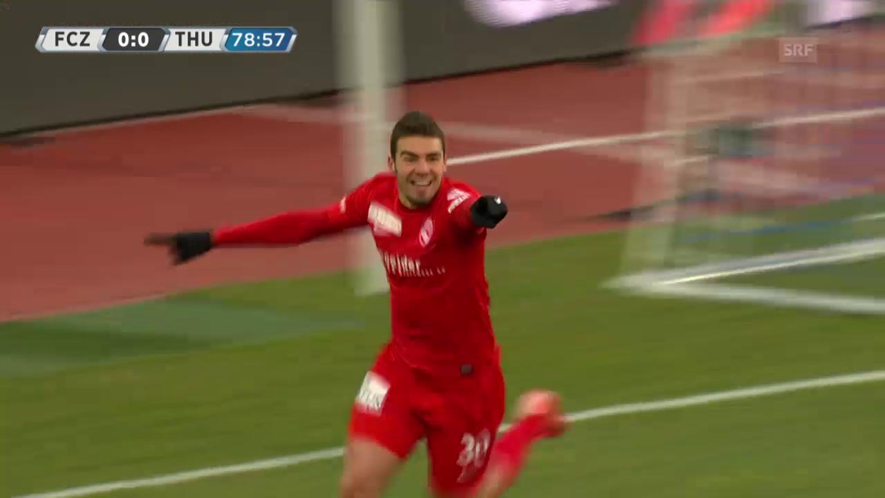 Fussball: Highlights Zürich - Thun