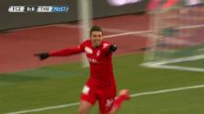 Video «Fussball: Highlights Zürich - Thun» abspielen