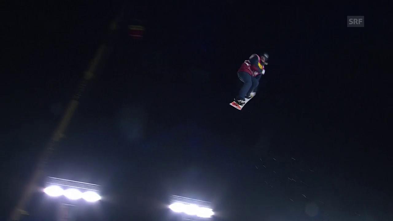 Carla Somaini überrasch beim Big Air in Mönchengladbach