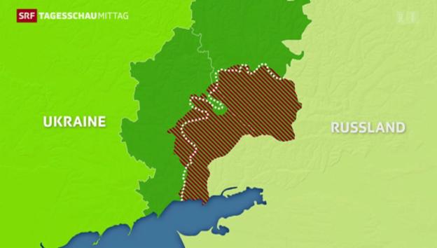 Video «Auf Waffenruhe in Ukraine geeinigt» abspielen