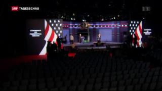 Video «Spannung vor erstem Fernsehduell» abspielen