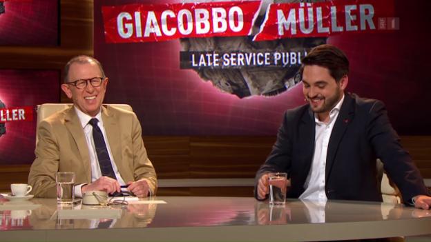 Video «Late Service Public mit Cédric Wermuth und Joachim Rittmeyer» abspielen